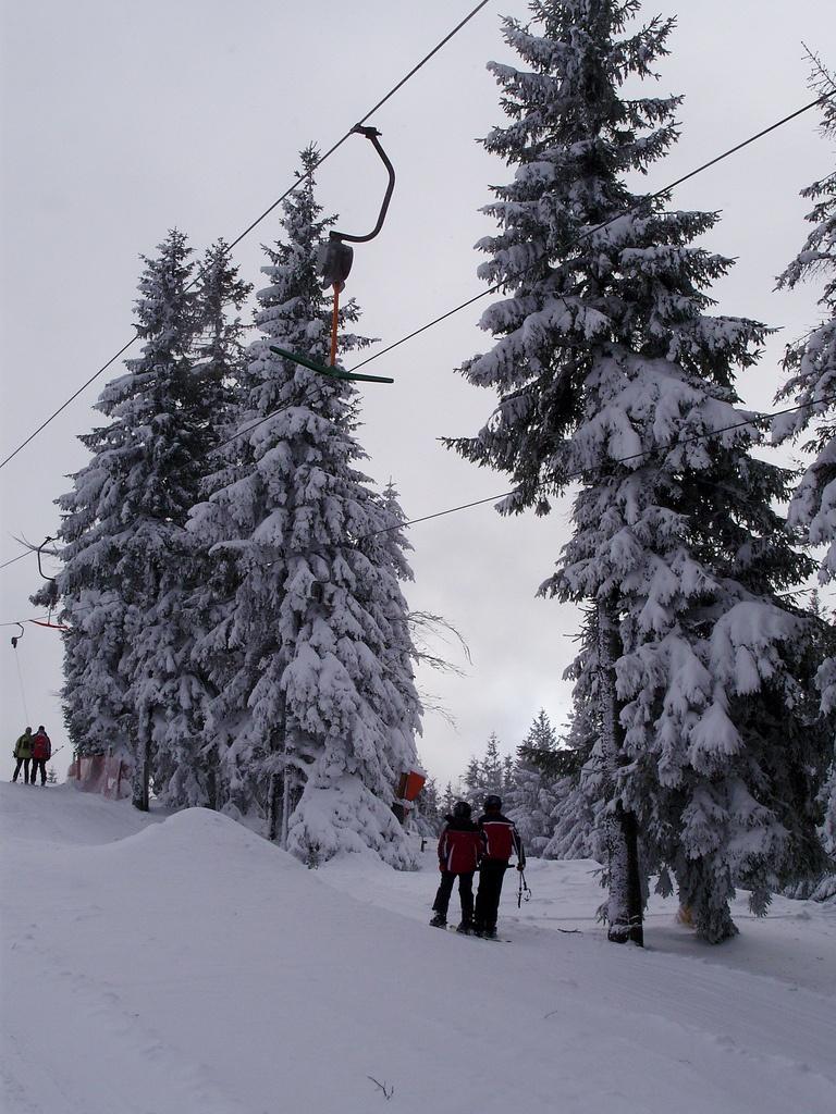 Stoki narciarskie w Szczyrku