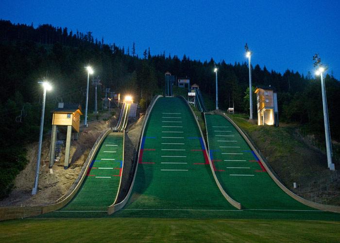 Stoki narciarskie w Szczyrku - Centralny Ośrodek Sportu w Szczyrku
