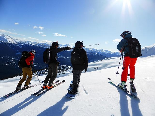 wyposażenie narciarskie